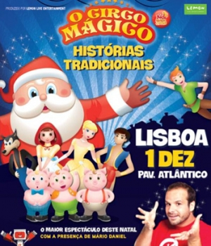 circo mágico no pavilhao atlantico