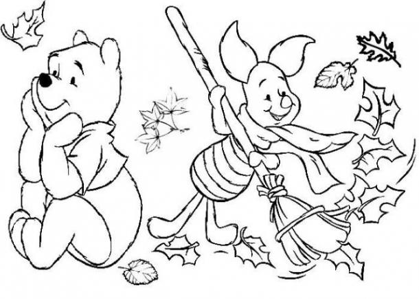 Desenhos De Outono Para Colorir Online24