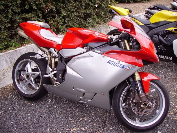 MV Agusta F4 Tamburini - as motos mais rápidas do mundo