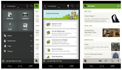 Evernote - Melhores Apps Android