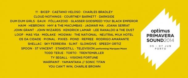 optimus primavera sound 2014